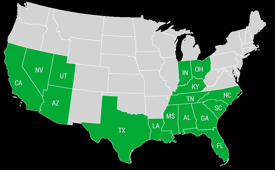 Hiring Area - Map Image